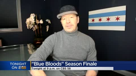 'Blue Bloods' star Donnie Wahlberg talks with CBS 58 ahead of season finale