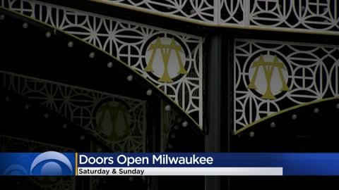 Doors Open Milwaukee being held this weekend, drawing attention to city landmarks