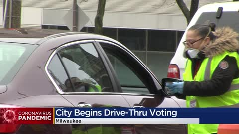 Casting your ballot from your car: Drive-up early voting launches...