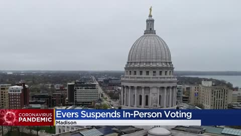Wisconsin court blocks Gov. Evers' move to delay election