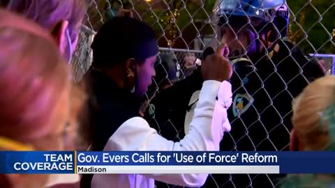 Evers calls on Legislature to pass bill on police use of force