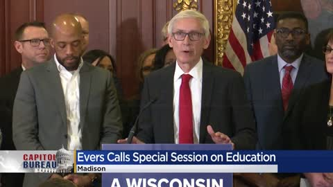 Evers calls for $250 million spending on K-12 schools