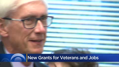 Evers announces more than $400K in grants for Milwaukee-area veterans
