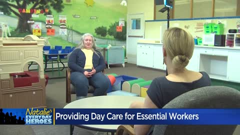 Natalie's Everyday Heroes: Ann Bieringer provides child care...