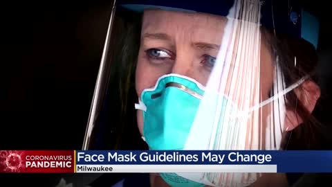 CDC could update recommendations for facemasks