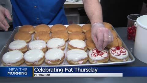 "Before ""Fat Tuesday,"" we have to enjoy ""Fat Thursday"""