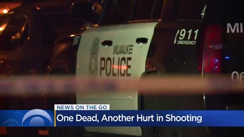 1 dead, 1 hurt in double shooting near Good Hope and Teutonia