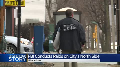 FBI executes several search and arrest warrants on Milwaukee's...