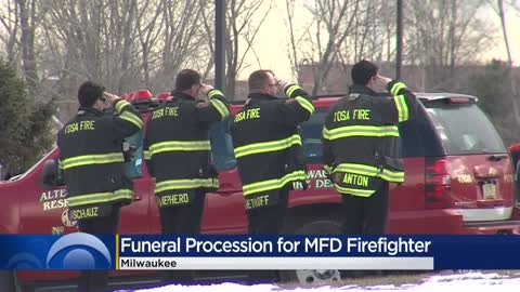 Funeral services held for Milwaukee firefighter who passed away unexpectedly