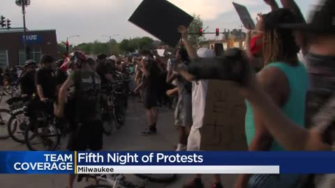Protesters gassed, 'ordered to disperse' after throwing...
