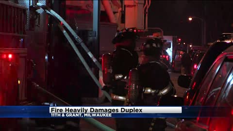 No injuries reported after fire damages duplex near 11th and Grant