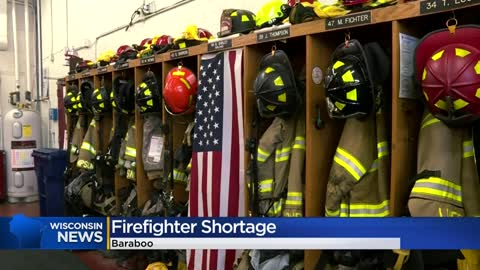 Wisconsin fire departments struggle with firefighter shortage
