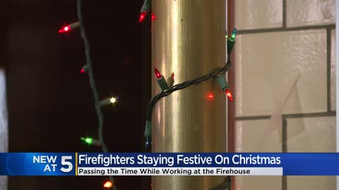 'We'll be there:' First responders spend Christmas Day at work, ready to respond to emergencies