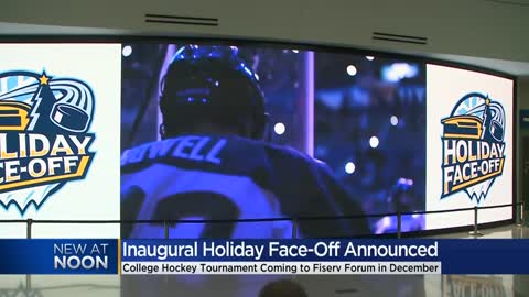 Fiserv Forum to host inaugural Holiday Face-Off college hockey tournament