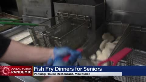 Milwaukee's Packing House delivers free Friday fish fry meals to seniors