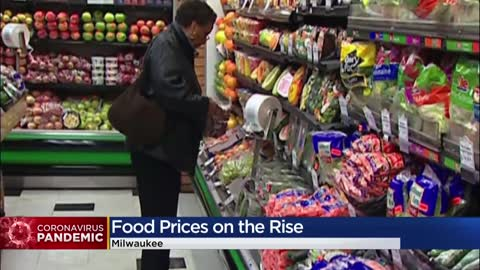 Shortages on meat, other foods in Wisconsin grocery stores means...