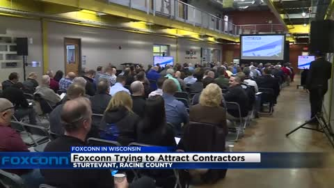 Foxconn trying to attract contractors