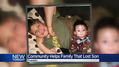 Community rallies to help family that lost son