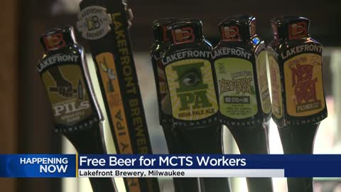 Cheers! MCTS employees can get a free beer at Lakefront Brewery Jan. 29