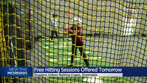 Free baseball hitting session at Greendale's 'Sluggers Indoor...