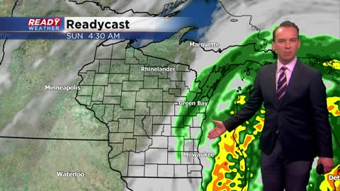 One chance for trick-or-treat rain this Halloween weekend
