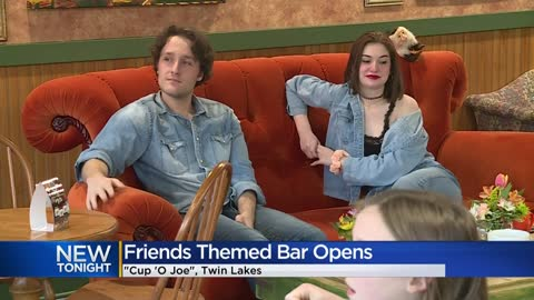 'Friends'-themed coffeehouse opens in Twin Lakes