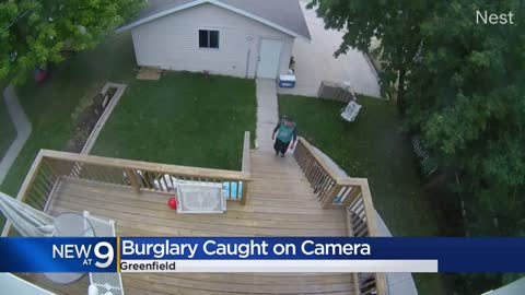 Body cam video shows Greenfield police stopping home burglary as it's in progress