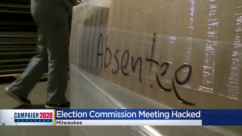 Milwaukee election officials' video chat meeting hacked, state results on Monday