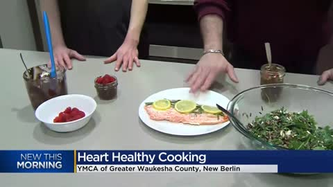 Heart Healthy Cooking Class offered at the YMCA New Berlin Wellness...