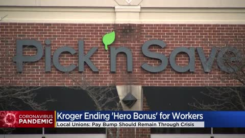 Kroger's end to Hero Pay will affect thousands of grocery workers in Milwaukee area