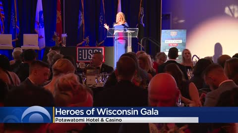 Military Members Get Special Recognition at USO Wisconsin Gala