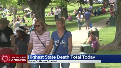 Wisconsin reports 22 COVID-19 deaths Wednesday in largest single-day...