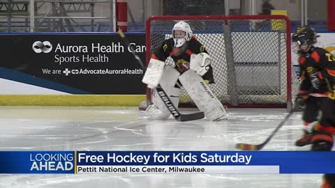 Skate to Pettit Center this Saturday for free kids hockey session