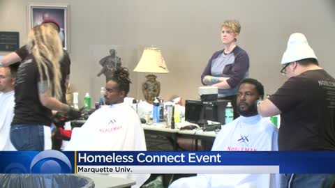 Marquette University hosts 'Project Homeless Connect,' providing resources for those in need