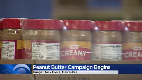 Hunger Task Force kicks off 'Wanted: Peanut Butter' campaign