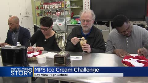 MPS students compete in ice-cream making competition