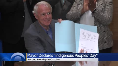 Mayor Barrett declares second Monday of October Indigenous Peoples' Day