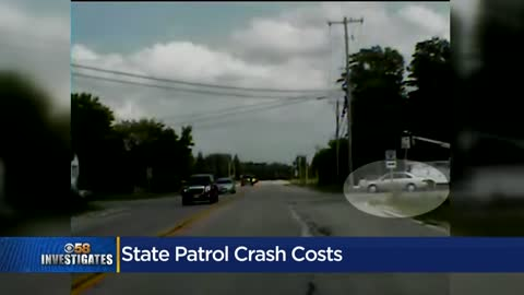 CBS 58 Investigates: State Trooper crashes