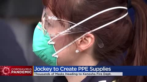 Kenosha-based Jockey International to produce gowns, donate equipment...