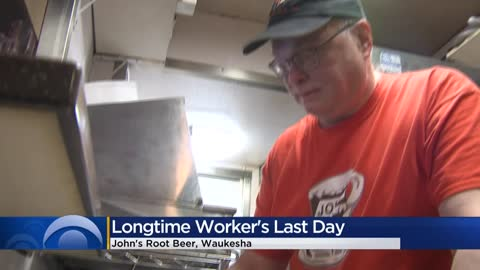 John's Root Beer stand employee retiring after four decades of service