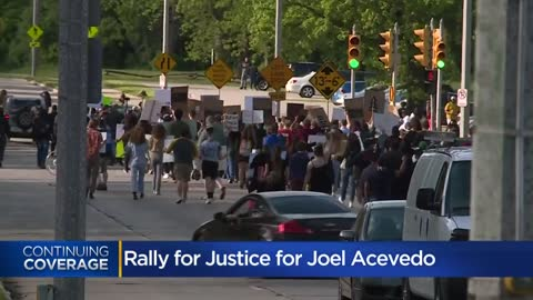 ' Demonstrators demand Milwaukee Officer Mattioli be held accountable...