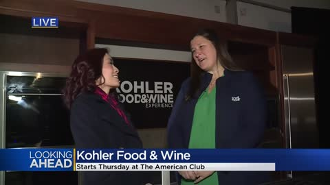 Annual Food & Wine Festival returns to Kohler for 19th year
