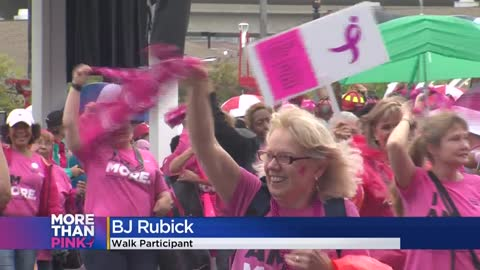 Over 5,000 people turn out for this year's Komen Wisconsin More Than Pink Walk