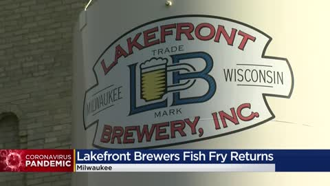 Lakefront Brewery's fish fry returns for pickup during Wisconsin's...