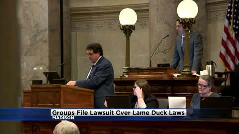 Groups seeking to void Wisconsin lame-duck laws