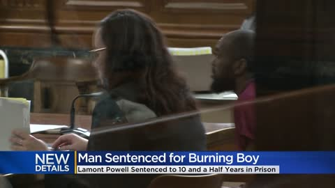 Milwaukee man gets 10 years in prison for burning 2-year-old with lighter 'because he was mad'