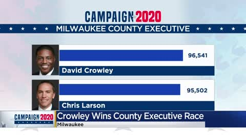 Milwaukee County Executive candidate Sen. Chris Larson concedes race to Rep. David Crowley