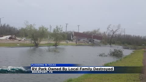 Caledonia woman owns RV Park in Rockport, Texas now destroyed by Harvey