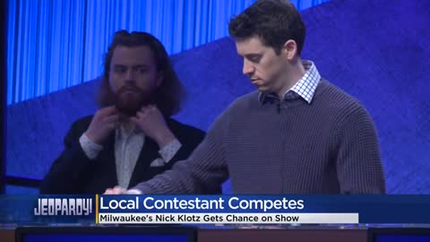 Milwaukee man competes on Jeopardy Tuesday