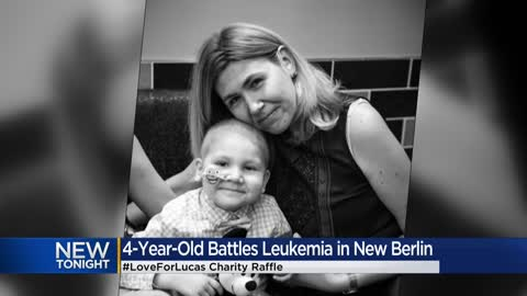 New Berlin school hosts charity raffle for 4-year-old boy undergoing chemotherapy